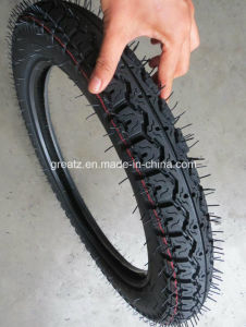 Natural Rubber 110/90-17 Motorcycle Tires pictures & photos