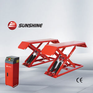 Mini Scissor Lift, Car Hoist, Height: 1000mm (SXJS3010)