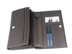 Lady Classic Genuine Leather Wallet/Purse/Bag (JYW-29139) pictures & photos