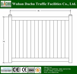 Powder Coated PVC Fence pictures & photos