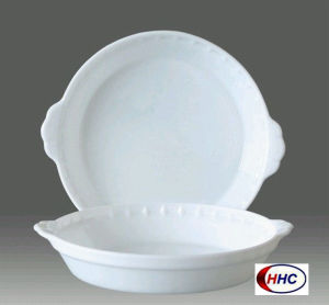 Opal Glassware Round Plate