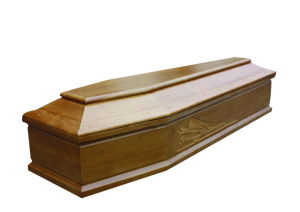 Italian Wood Coffin/Casket (BN-L-611B)