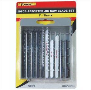 T- Shape Jig Saw Blade Set 10PCS Decoration Hardware pictures & photos
