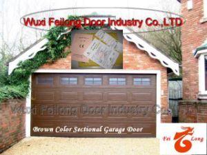 Brown Color Automatic Garage Door