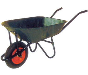 Solid Wheel with Steel Body for Wheel Barrow (WB7401) pictures & photos