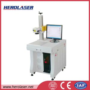 Two Years′ Warranty High Speed 20W Laser Marking Machine for Bar Code / Ean / Pdf417 pictures & photos