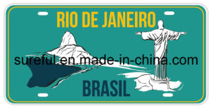 Decorative License Plate in Brazil pictures & photos