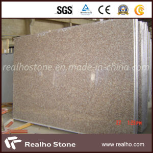 Polished Cheap G687 Peach Red Granite Stair Slab pictures & photos