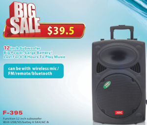 Protable Speaker with Bluetooth Battery Speaker F395 pictures & photos