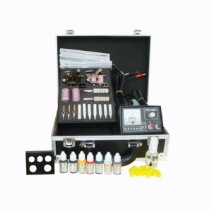 Professional Tattoo Kit with Tattoo Ink (911-3)