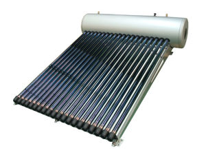 Non-Pressure Solar Water Heater (SS-420-47/1500-20) With Solar Keymark En12975, SRCC, CE pictures & photos