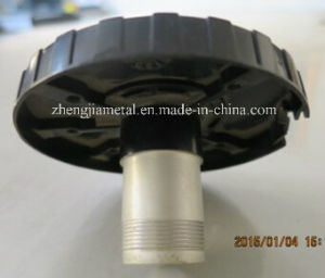 Black Plastic Die Casting Fan Impeller Accessories