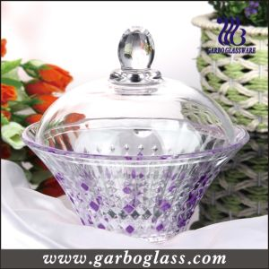 Colored Glass Candy Jar Candy Pot/Glassware (GB1809ZS/P) pictures & photos