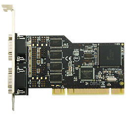 Best Connectivity 6 Serila RS232 dB9 PCI Card (FG-PMIO-V5T-0006S-1)