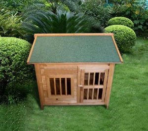 Outdoor Cat House Wooden Dog Houses for Small Dogs