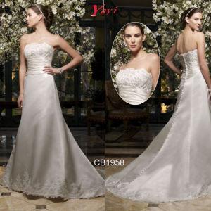 Unique Wedding Dress, Saucy Bridal Gown (CB1958)