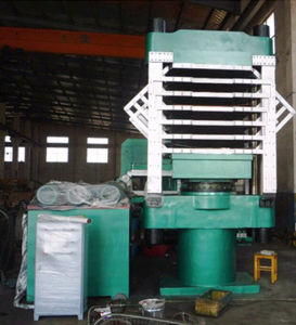 Column-Type EVA Foam Plate Rubber Vulcanizing Machine pictures & photos