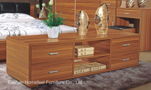 Useful Natural Walnut Color Floor Cabinet Sideboard (HHFC02T) pictures & photos