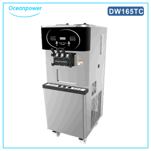 Dw165tc/165thc Ice Cream Making Machine Twin Twist with Pasteurization Soft Ice Cream Maker pictures & photos