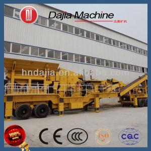 Mobile Jaw Crusher Ploduction Line pictures & photos