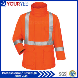 Cheap Custom High Visibility Flame Resistant Jackets Factory & Supplier (YZJK119) pictures & photos