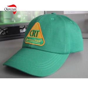 Green Embroidery Cotton Golf Caps pictures & photos