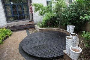 DIY Eco Composite Wood Floor Tile / WPC Flooring pictures & photos