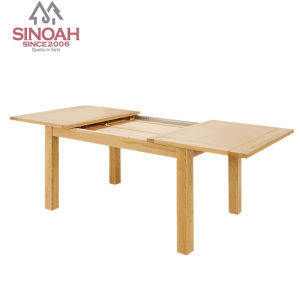 Wooden Dining Room Table/Solid Oak Extendable Dining Table