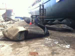 Marine Rubber Airbag for Ship Launching and Upgranded pictures & photos