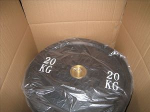 Olympic Solid Rubber Bumper Plates pictures & photos