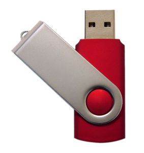 Metal Plastic Swivel USB Flash Drive Pen Drive pictures & photos