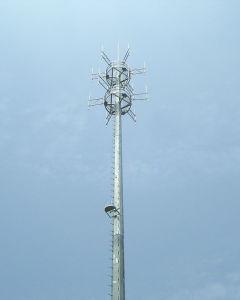 Steel Pole Telecom Tower