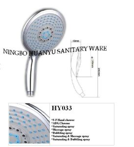 Showerhead, Hand Held Shower, Shower Hand (HY033) pictures & photos