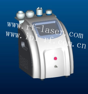 Ultrasonic Cavitation +Monopolar RF + Tripolar RF + Vacuum Liposuction Multifuction Beauty Machine