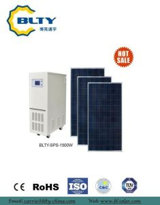 1500W off Grid Solar Power System Home Power System pictures & photos