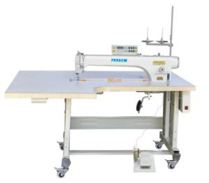 Long Arm Direct Drive Computer Lockstitch Sewing Machine pictures & photos