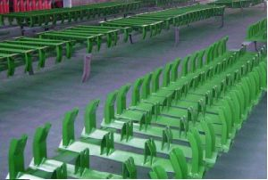 Trough Conveyor Idlers, Roller, Frame