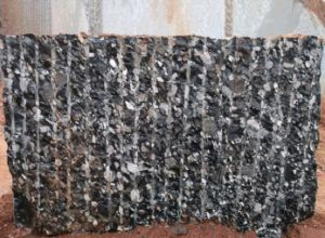 Brazil Natural Stone Black Marinace/Mosaic Blocks Black Granite Quarry Factory