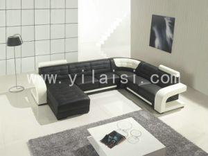 Corner Leather Sofa (T139)