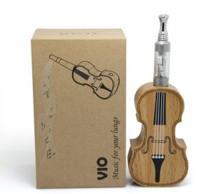 Factory Price Vio E Cigarette Violin Wooden Violin Mod Ecig Vio Ecig E Cigarette Wholesale