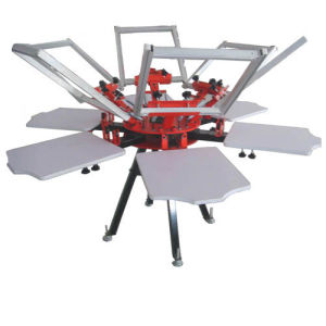 Carousel Screen Printing Machine for T-Shirt (CY66N)