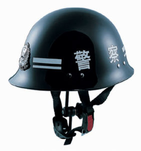 Police Safety Helmet with ABS Material (QWK-5L) pictures & photos