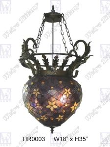 Tiffany Ceiling Lamp (TIR0003)