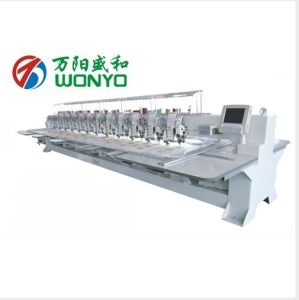 Best Quality&Design Cheaper Wonyo 10 Head Embroidery Machine Used for Sale Commercial pictures & photos