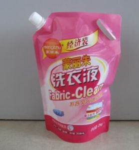 Plastic Eco-Friendly Spout Packaging Bags for Laundry Detergent pictures & photos
