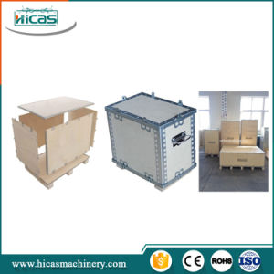 Nailless Foldable Wooden Box Steel Stripe Making Machine pictures & photos