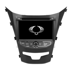 Wince 6.0 Mtk3360 Solution Car Subwoofer for Ssangyong Kyron 2013 2014 with Bluetooth FM Am USB DVD DVB-T