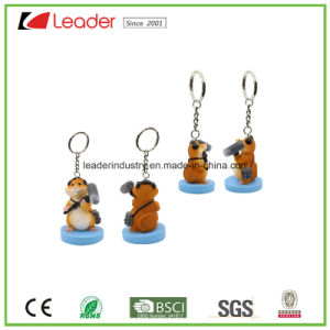 New 3D Zoo Animal Panda Figurine Keychain for Promotion pictures & photos
