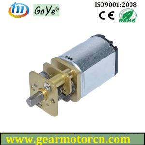 for Electric Lock Valve Round Diameter 13mm DC Gear Motor pictures & photos