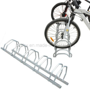 2016 Hot Sale Zinc Coated Floor Mounted Bicycle Parking Rack pictures & photos
